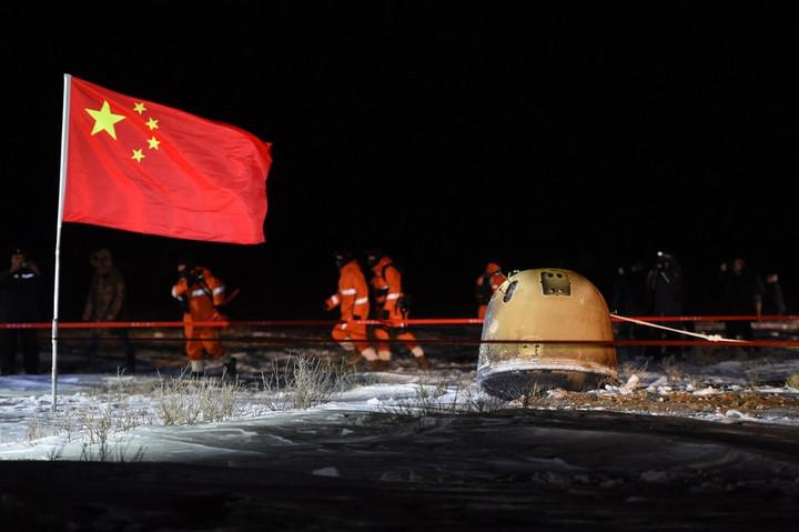 จีนชี้ 'นโยบายสหรัฐฯ' ตัวตัดสินความร่วมมือวิเคราะห์ตัวอย่างจากดวงจันทร์