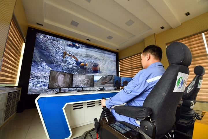 'ทำเหมืองอัจฉริยะ' ในจีนโตต่อเนื่อง ใช้หุ่นยนต์แทนมนุษย์ลดอุบัติเหตุ