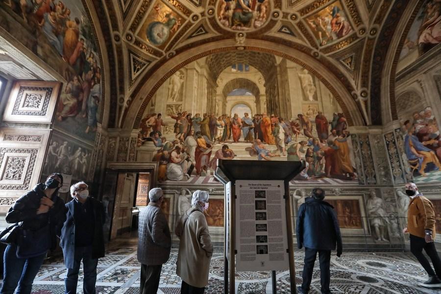 'พิพิธภัณฑ์วาติกัน' เปิดประตูรับนักท่องเที่ยวอีกครั้ง